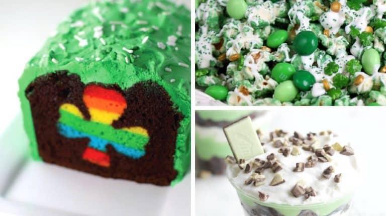 best dessert recipes for st patricks day