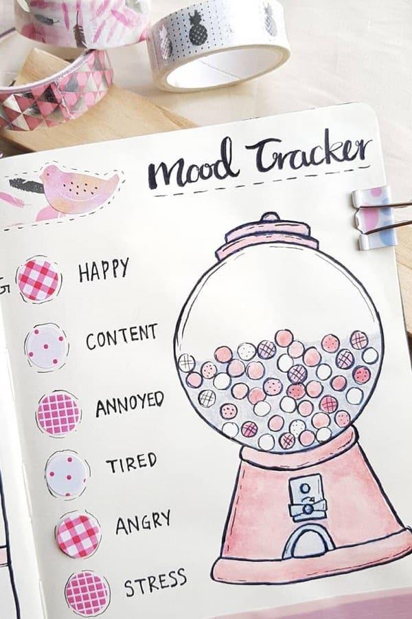 cute mood tracker ideas
