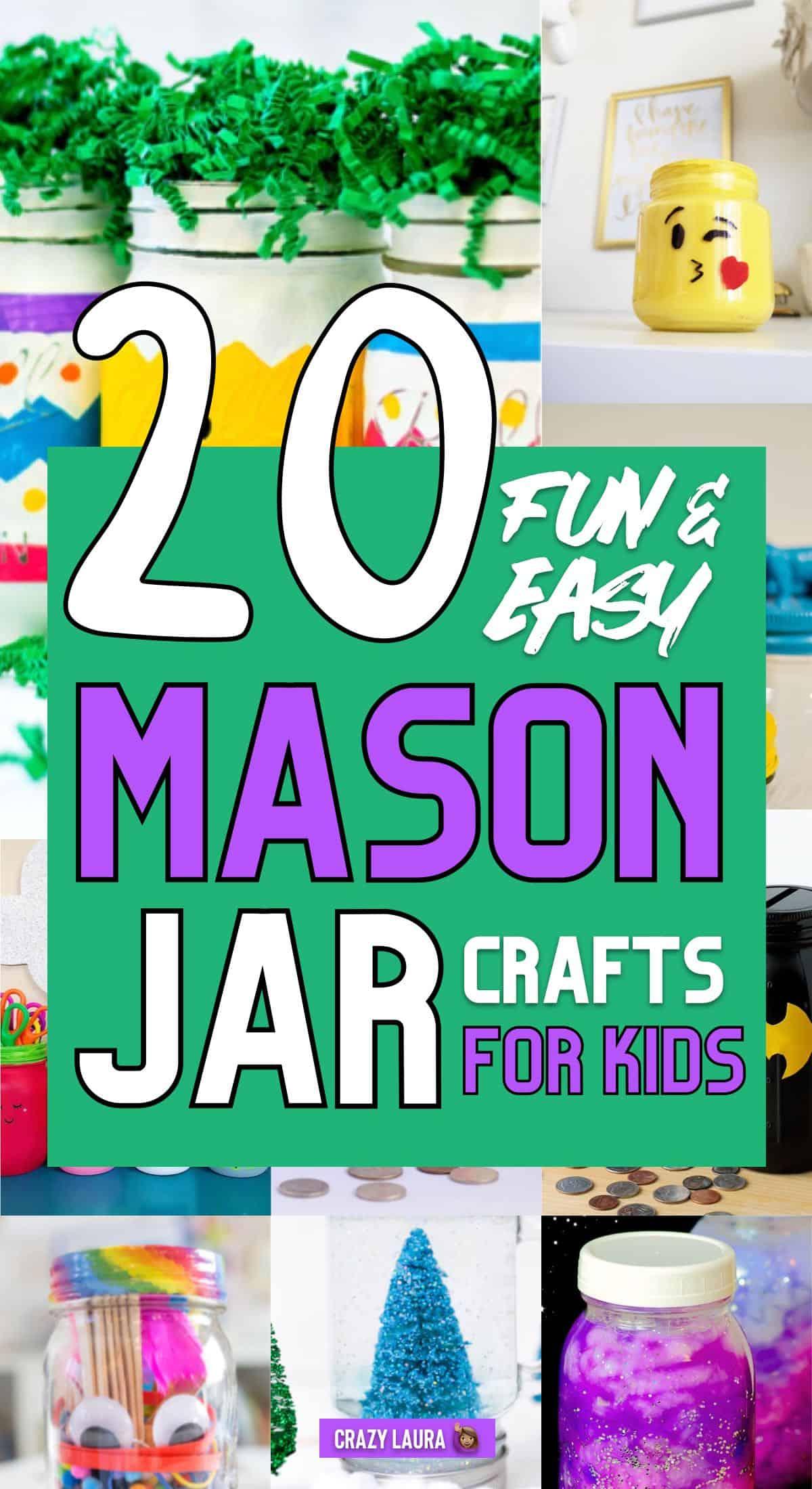 mason jar reused craft