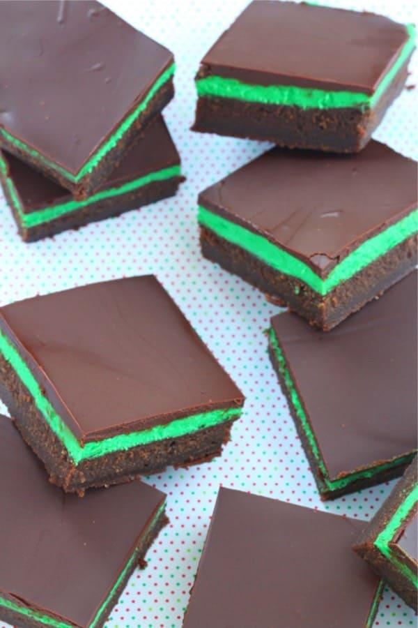 chocolate idea for st pattys day dessert