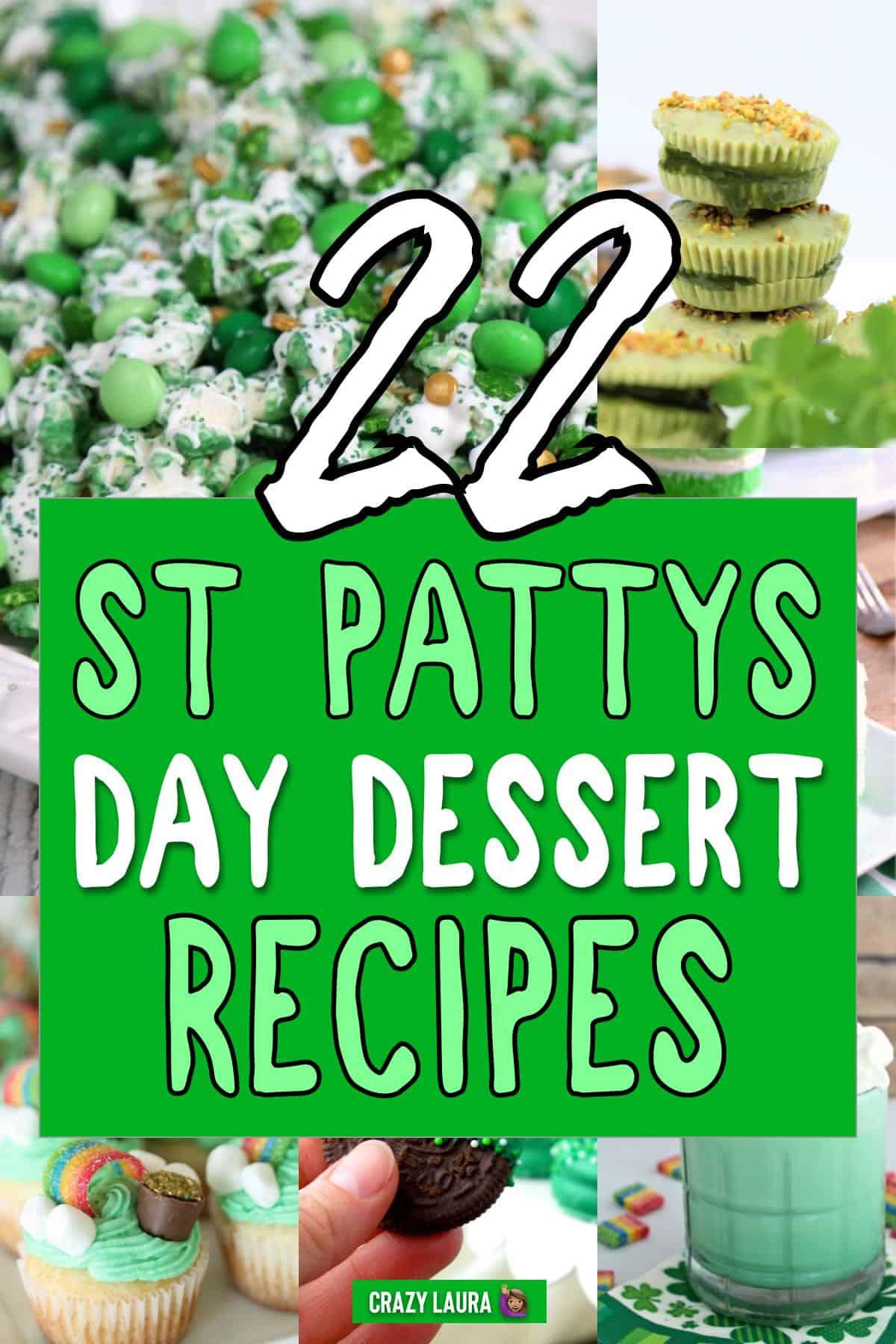 easy green dessert ideas