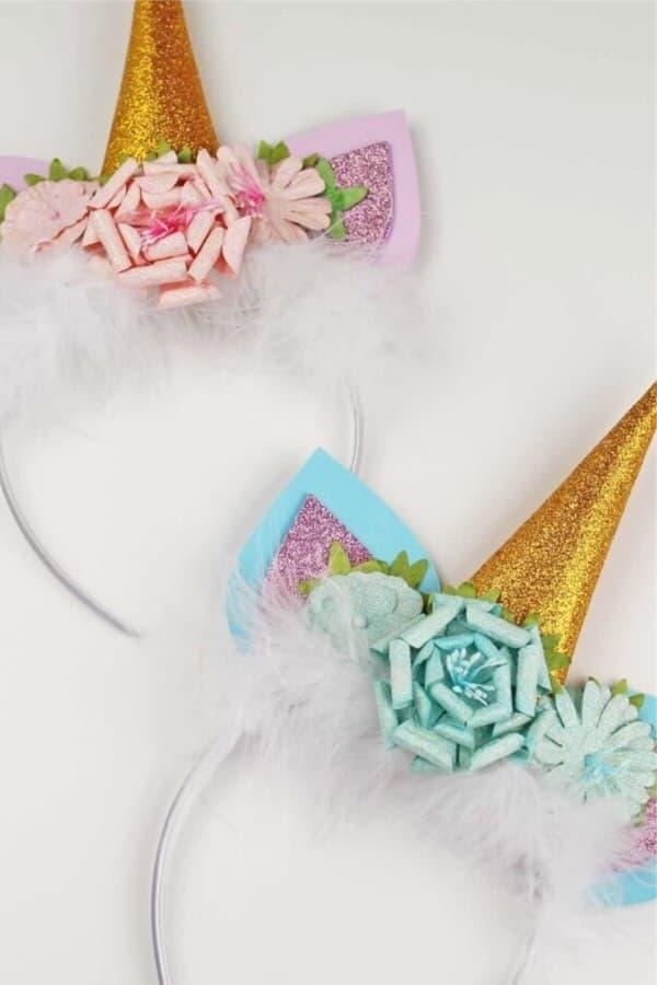 Fun and Cute DIY Unicorn Headband