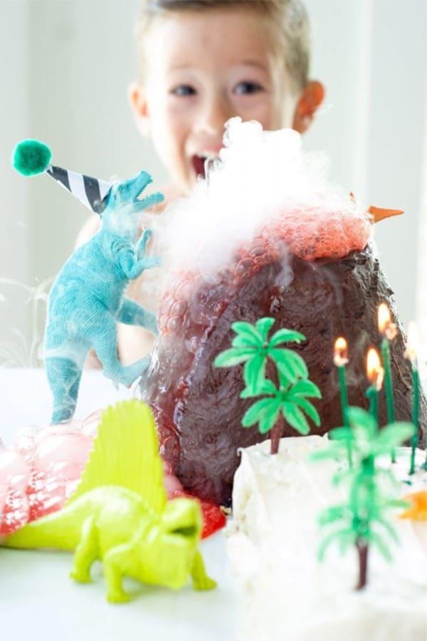 Homemade Dinosaur Cake Recipe