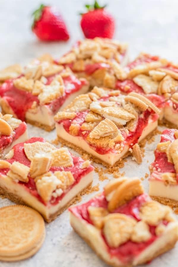 strawberry dessert bar recipes