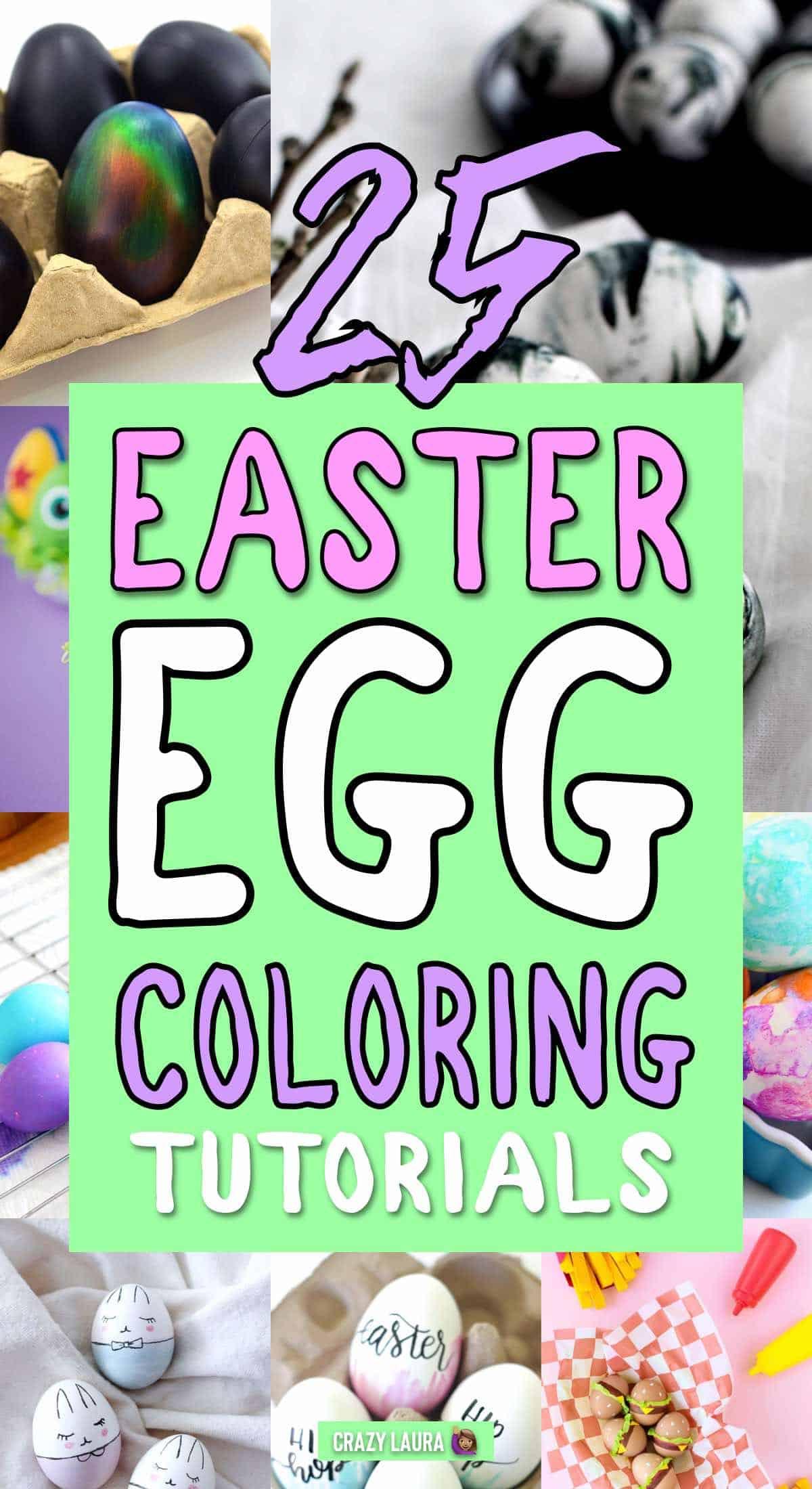 decorating easter egg inspiration