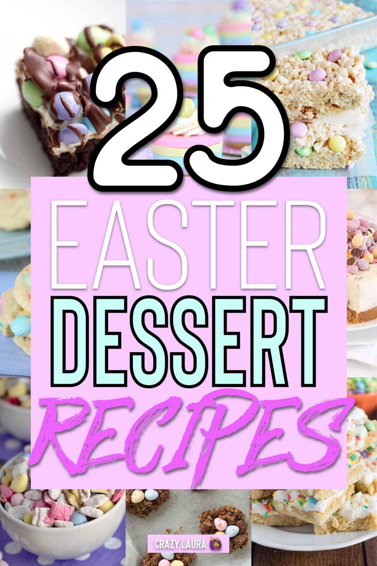 festive easter desserts