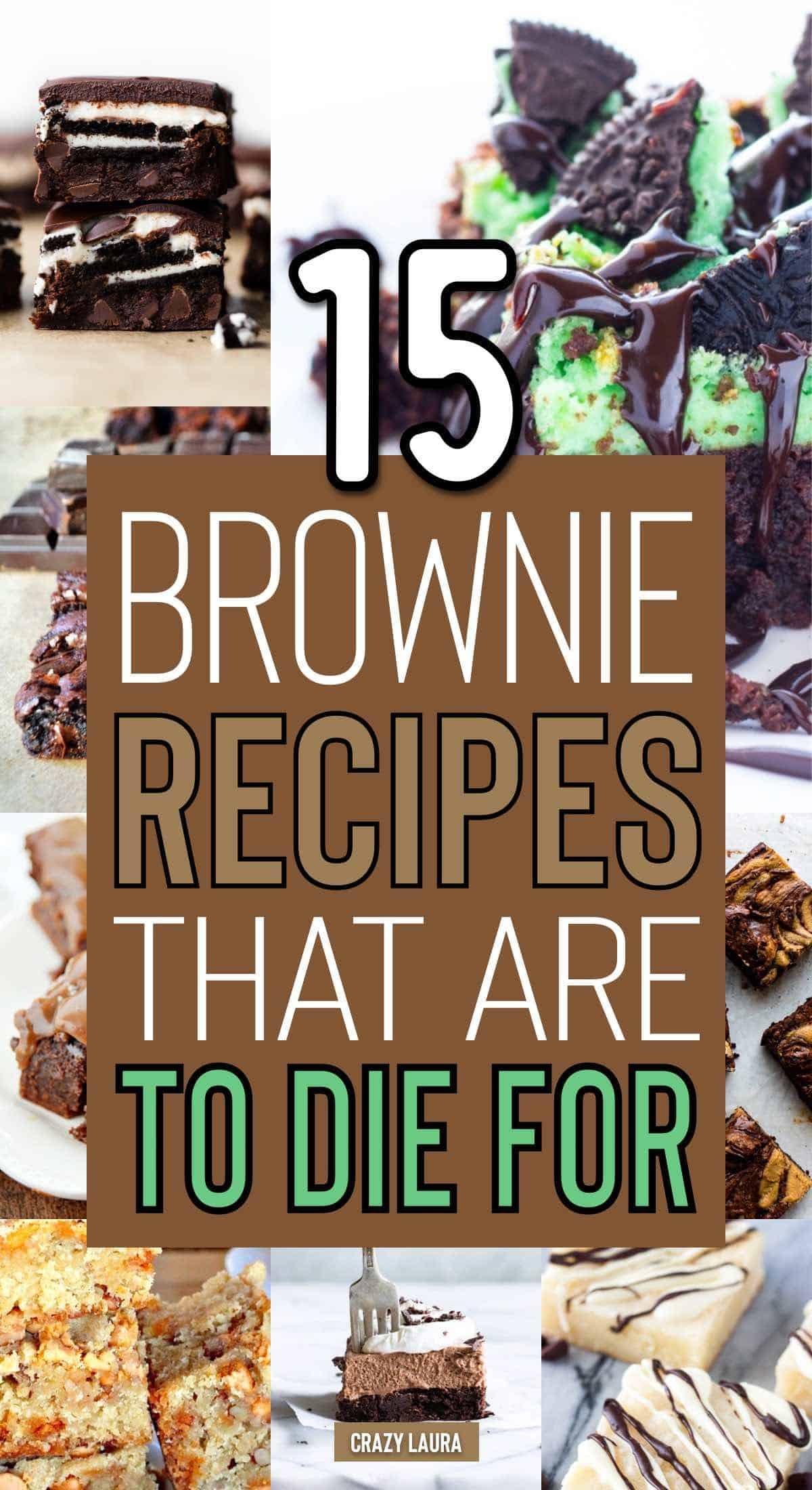 homemade no box brownies