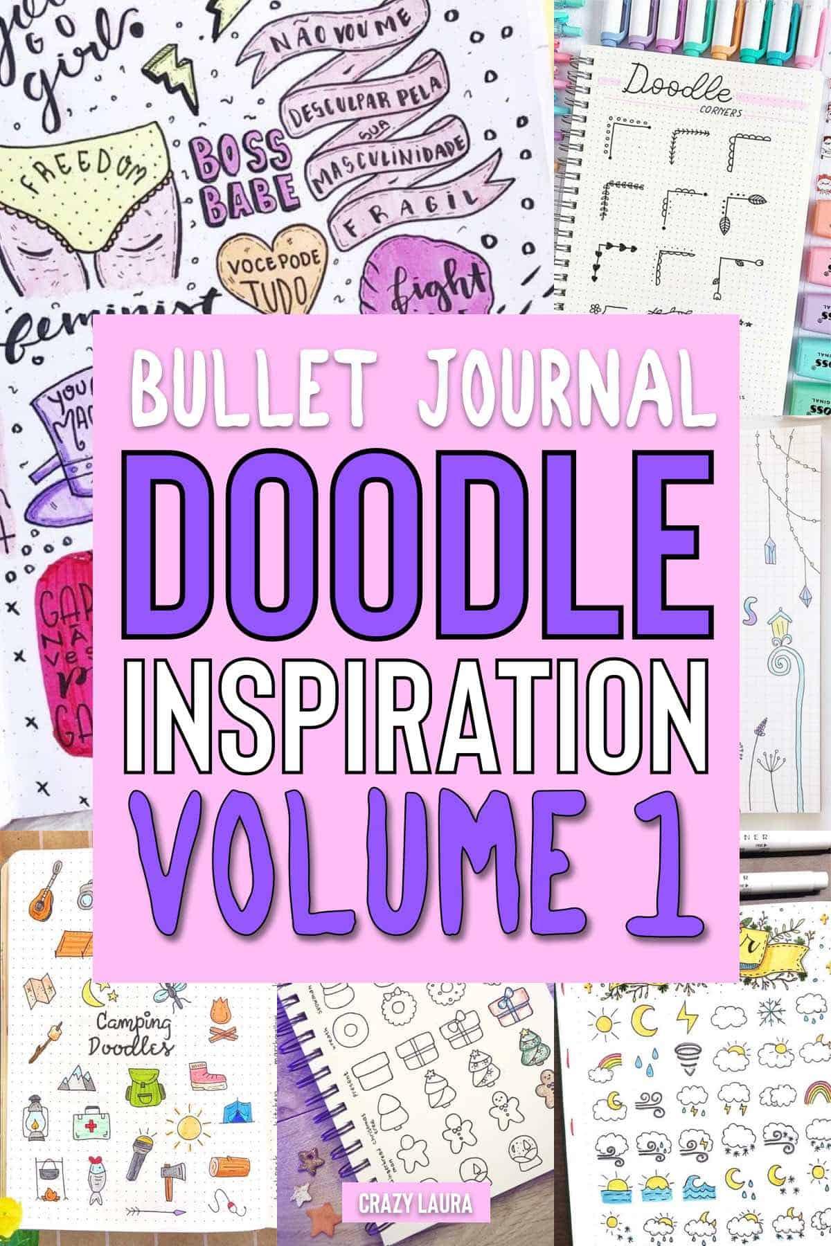 doodle ideas for bujo beginners