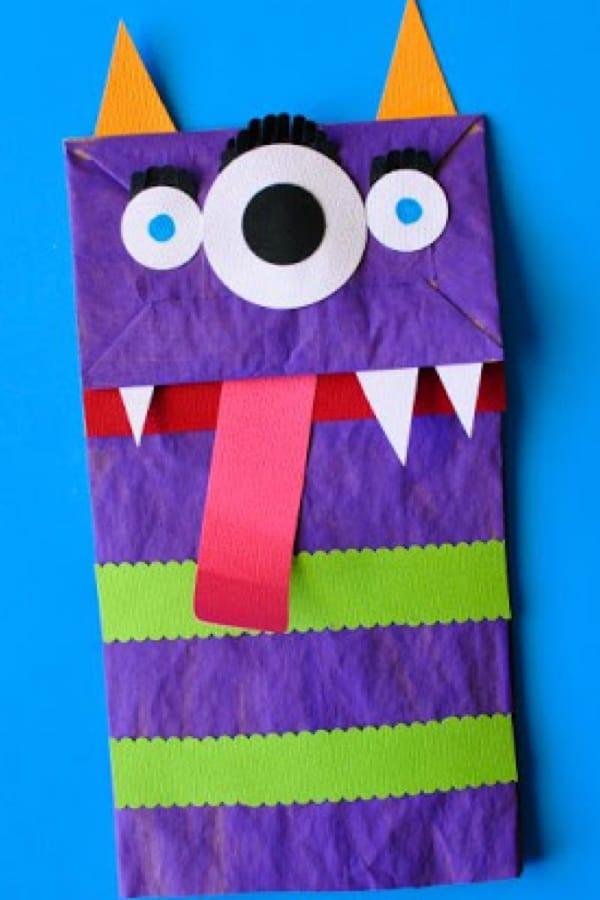 easy paper bag diy craft