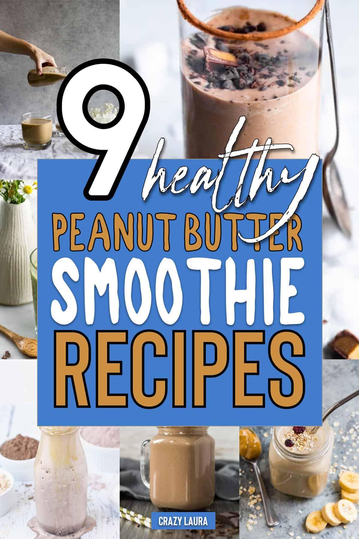 pb smoothie ideas