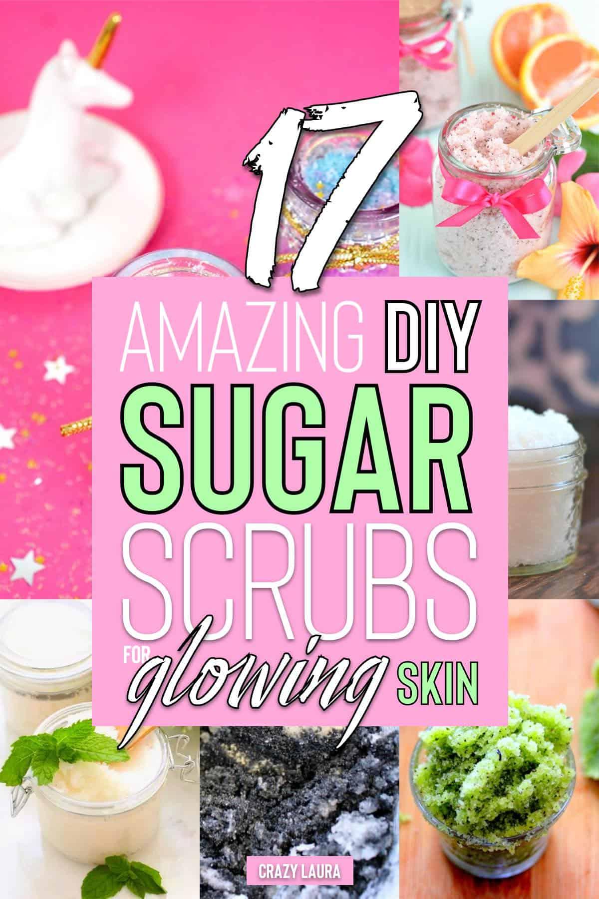 diy sugar exfoliate for face