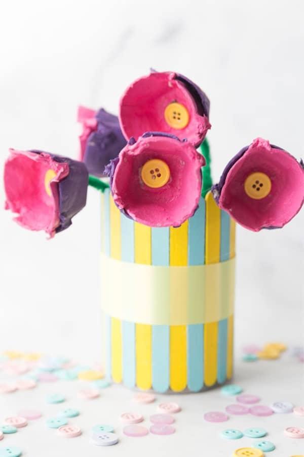 old egg carton crafts for kids