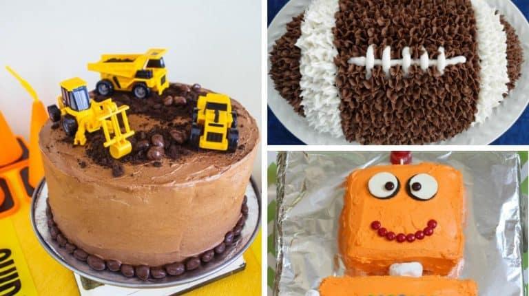 awesome birthday cake ideas for boys