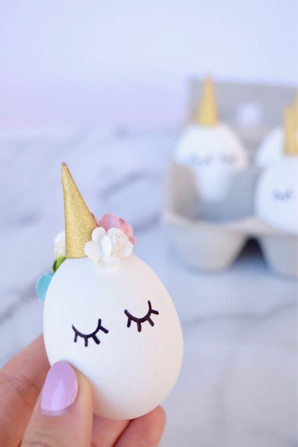 Unicorn Easter Egg Craft