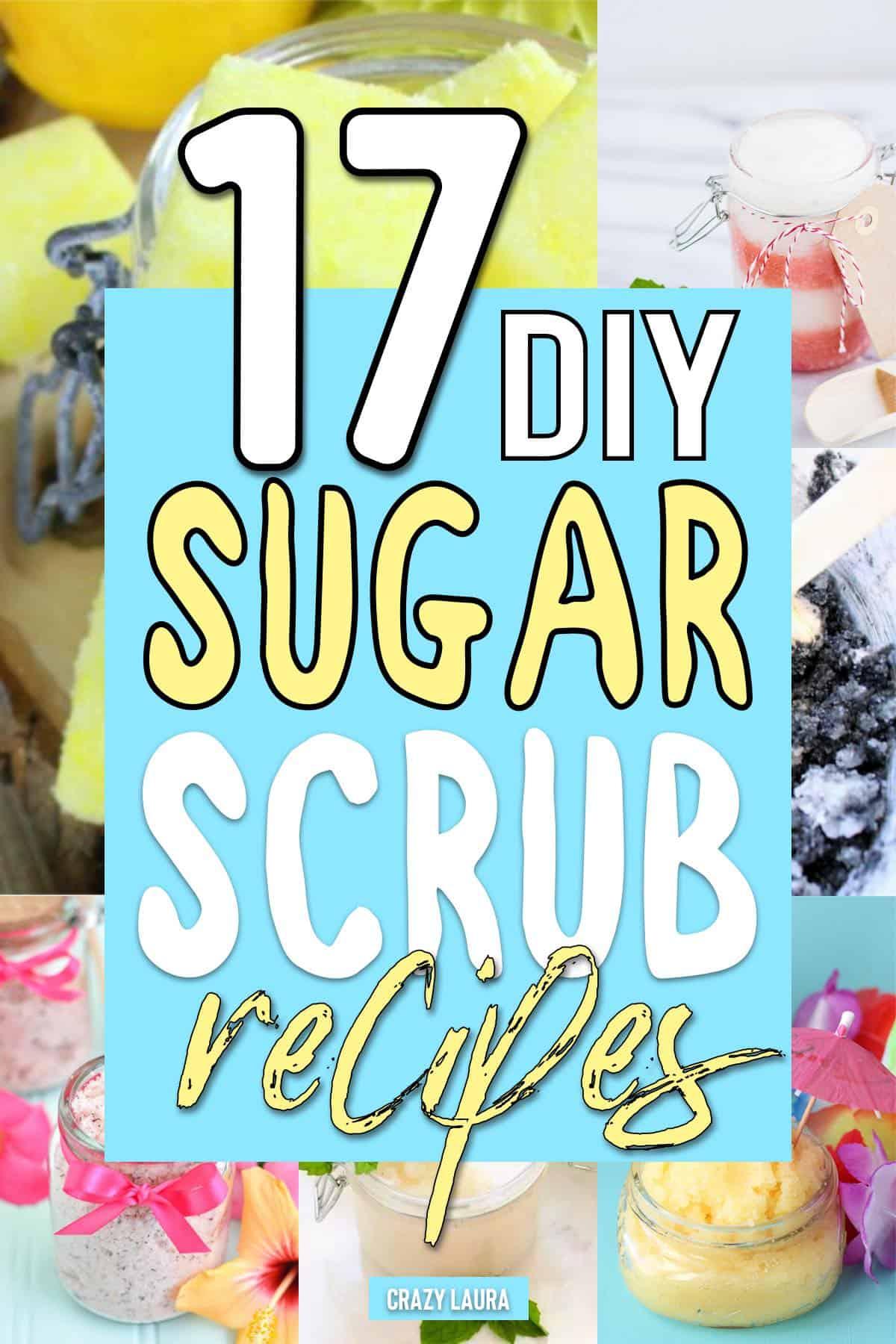 how to make sugar scrub recipe