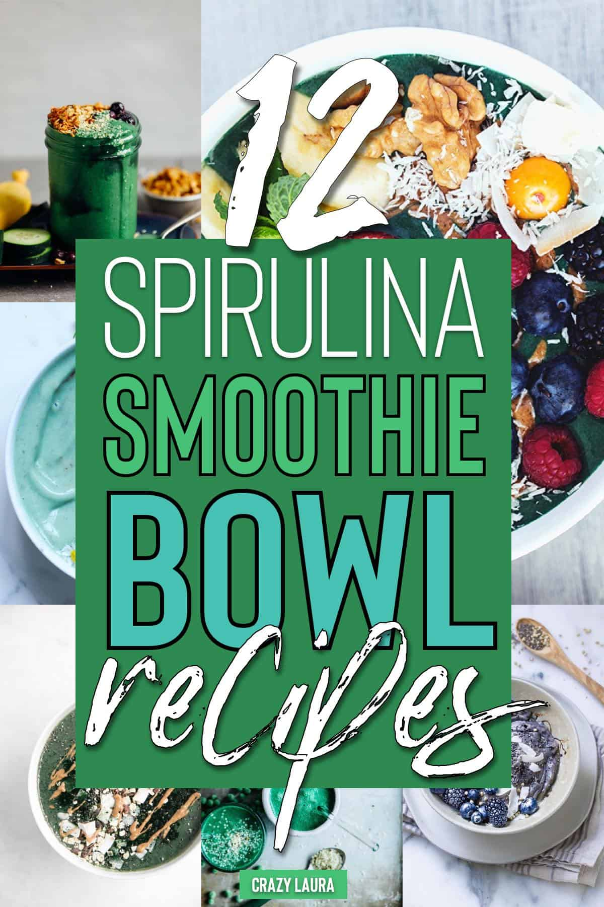 easy smoothie bowl recipes with spirulina