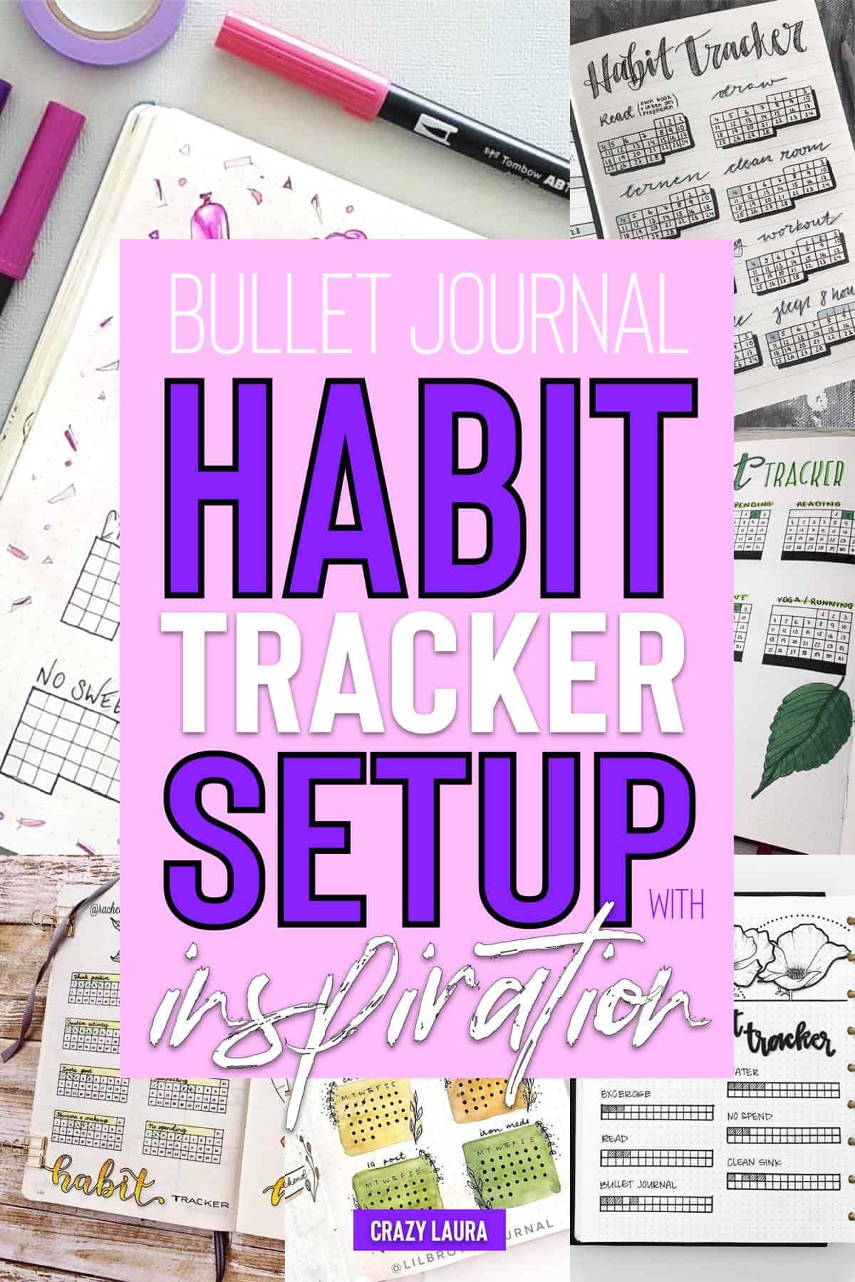 easy habit tracker setup for beginners