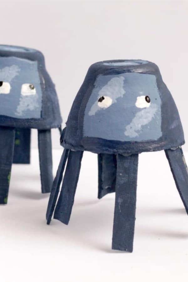 recycled egg carton craft ideas for boys