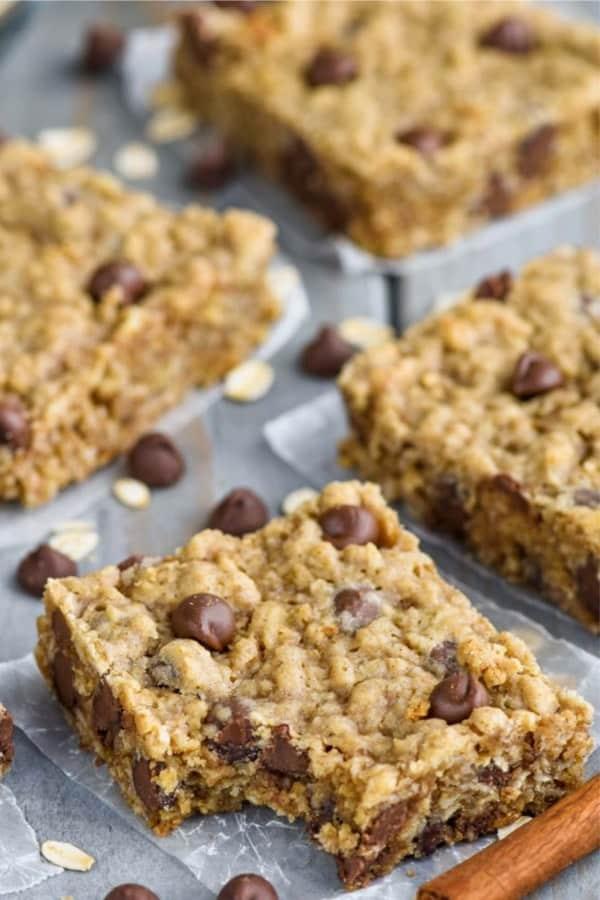 dessert bar recipes with oatmeal