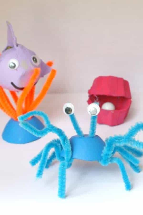 diy ocean creatures for kids