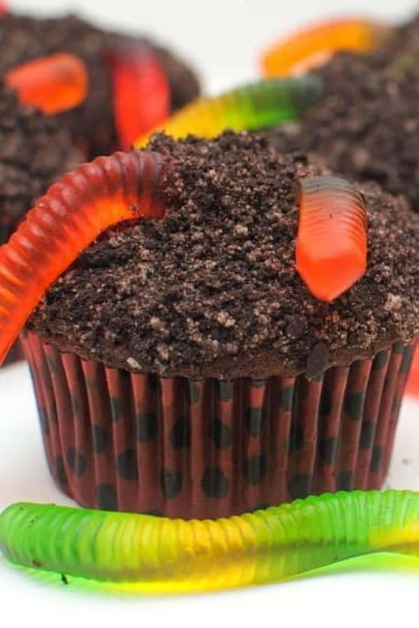 easy dirt cupcake recipe