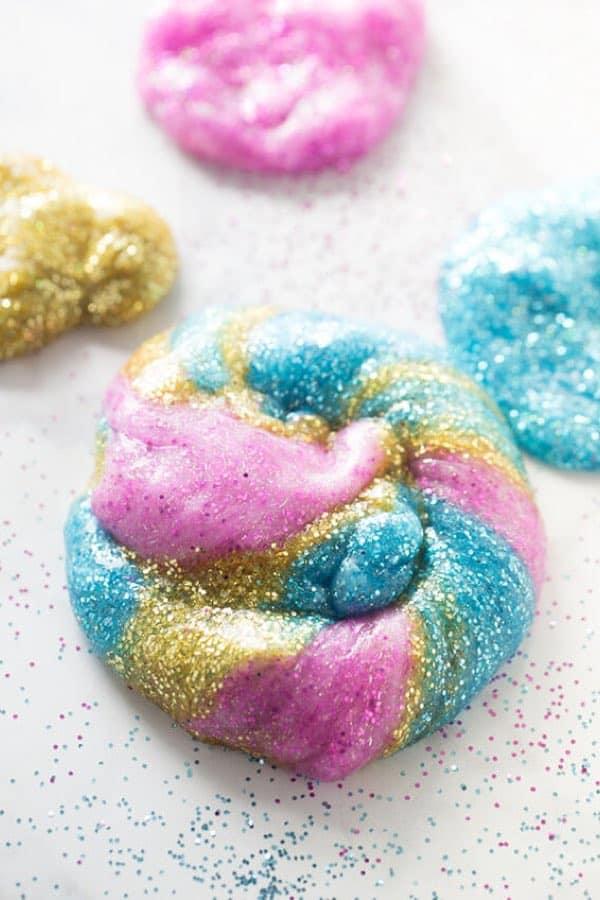 Unicorn Slime Craft for Kids