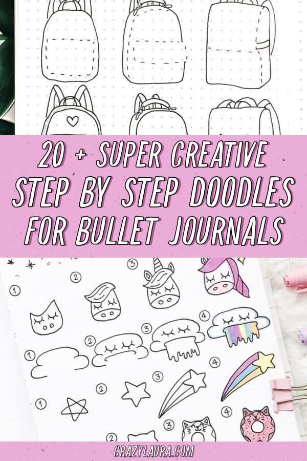 best bujo doodle spread ideas