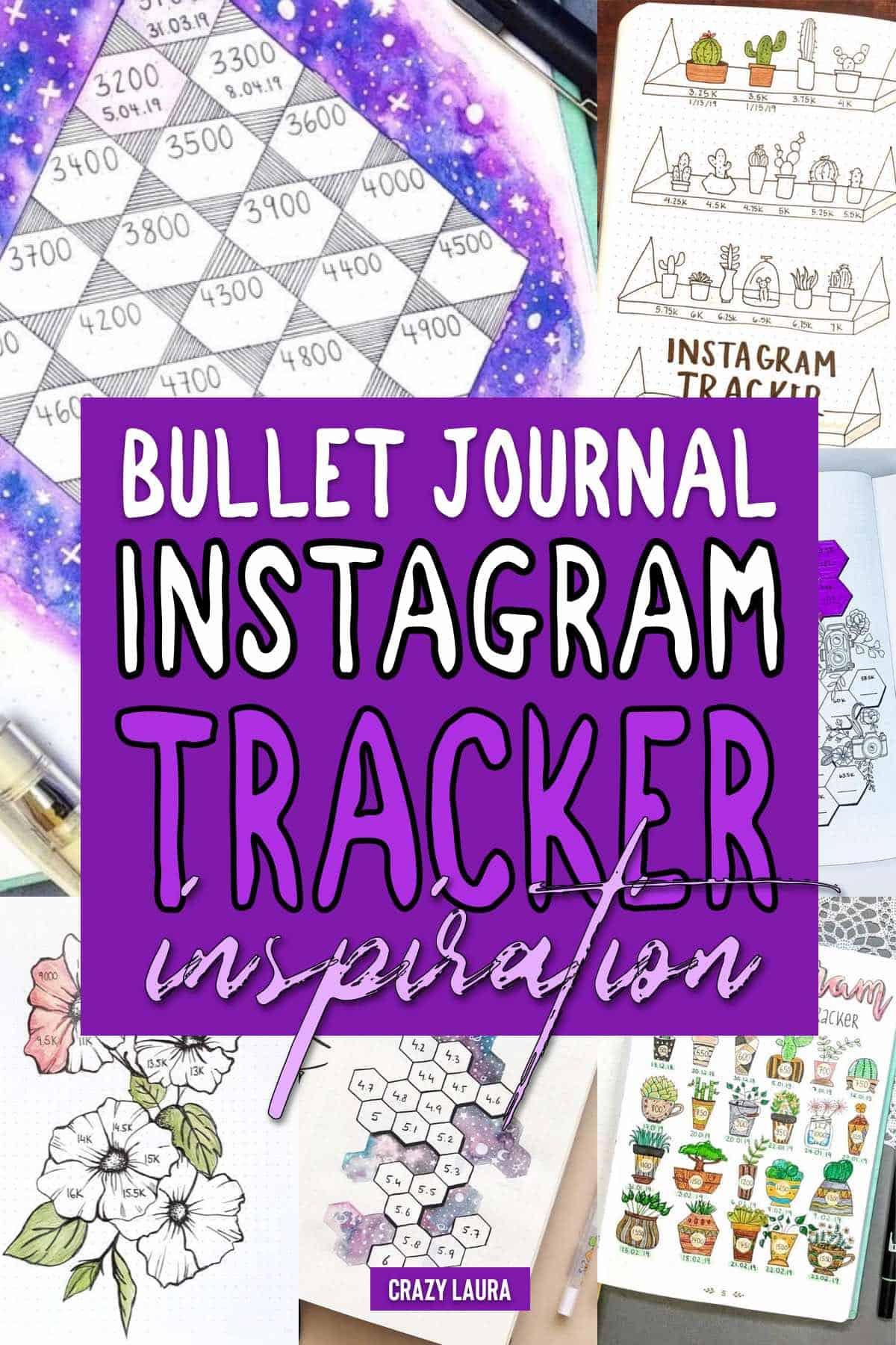 instagram tracker ideas