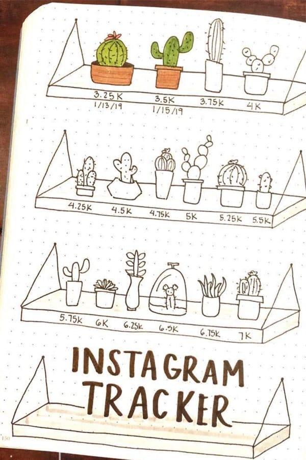 cute instagram tracker ideas
