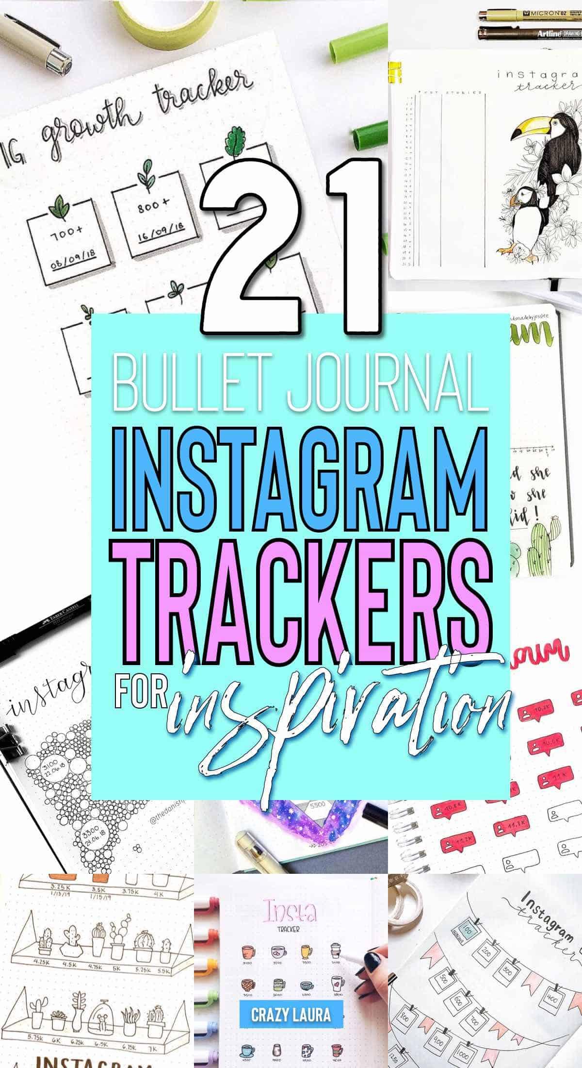 how to setup instagram tracker in bujo