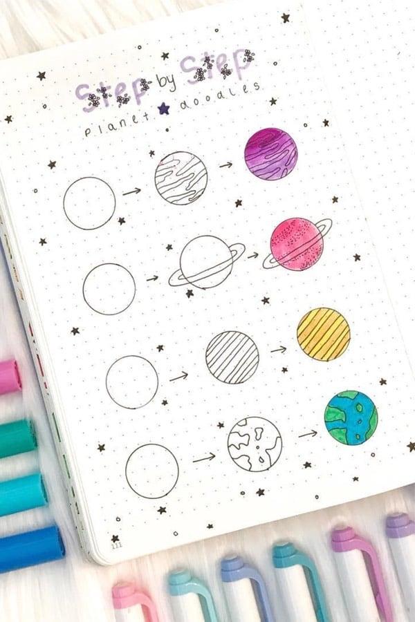 simple step by step drawings