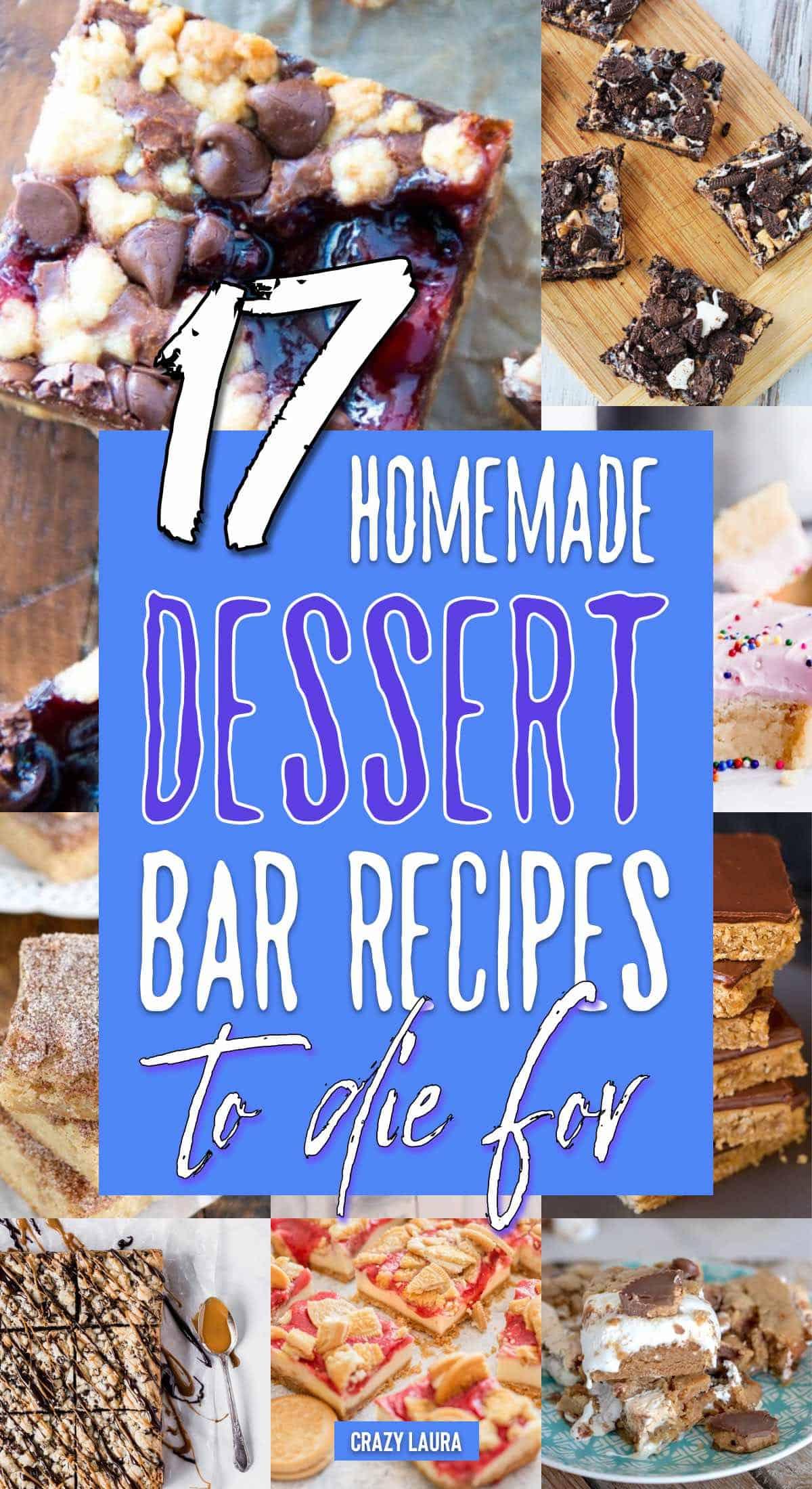 quick dessert bar recipe