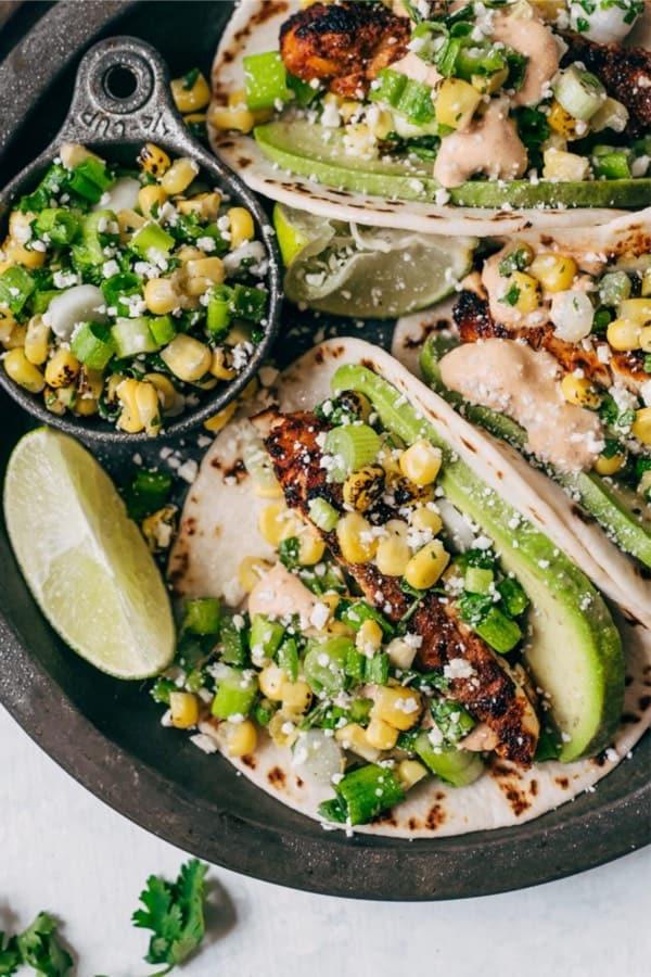chicken street taco ideas