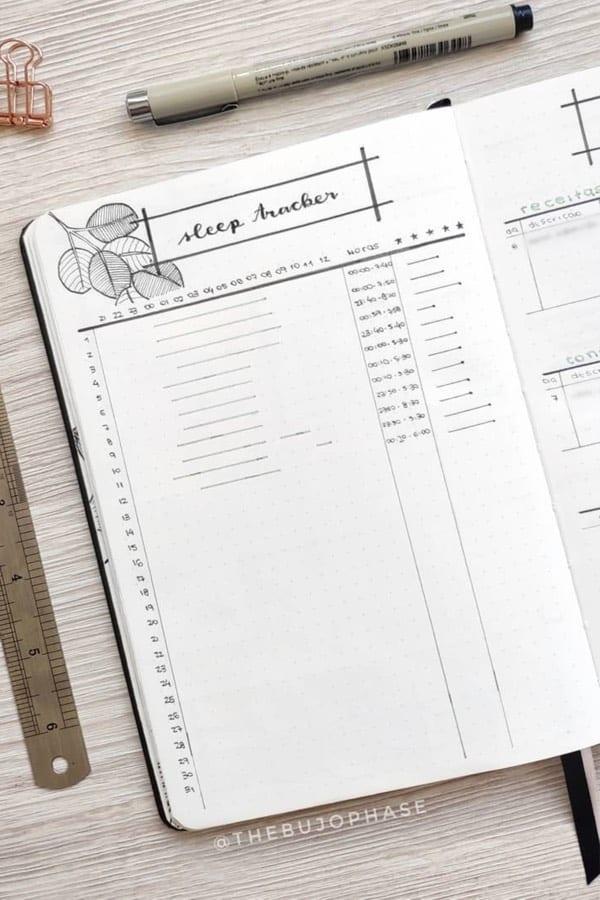 minimalist sleep tracker ideas