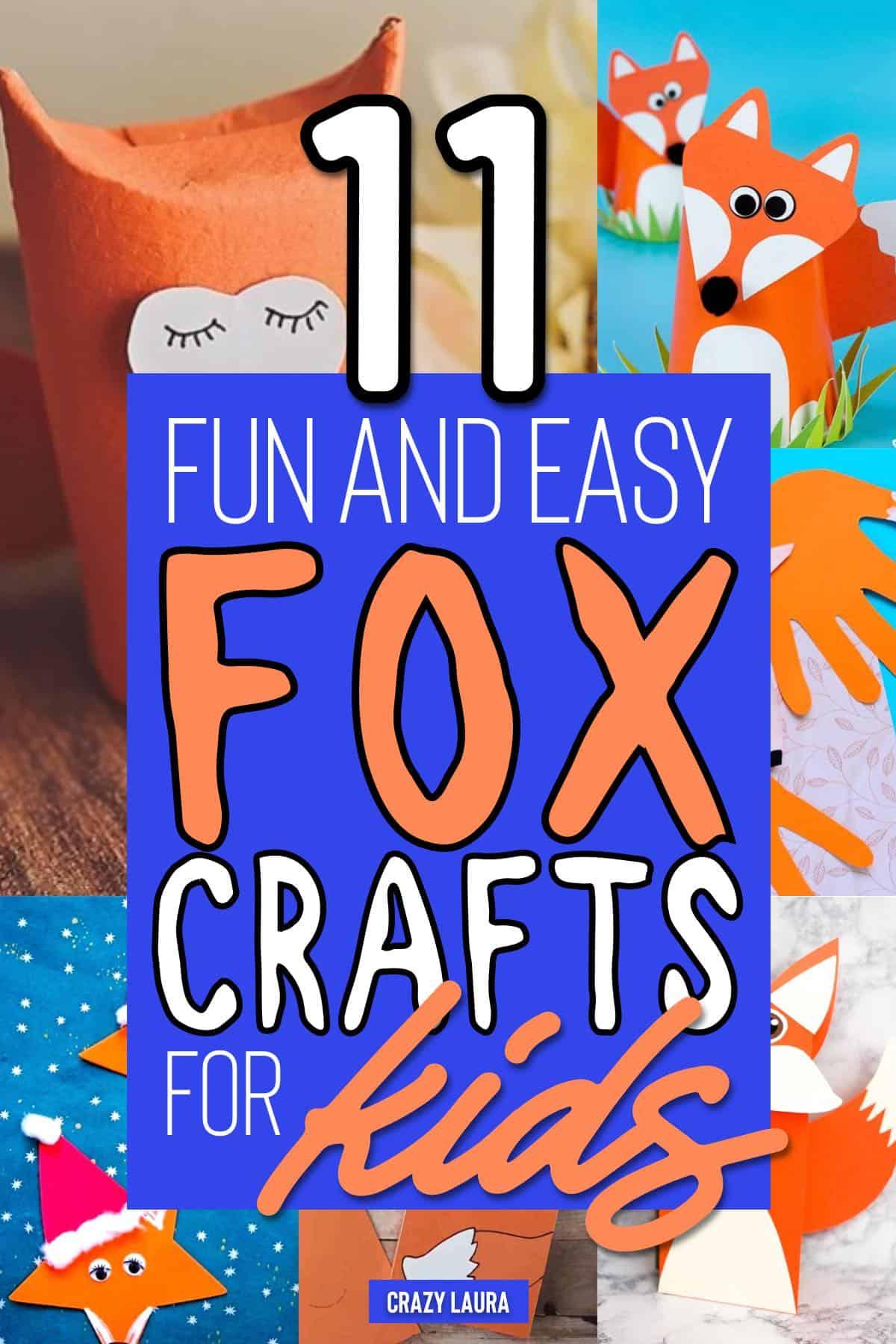 kids crafts with animals