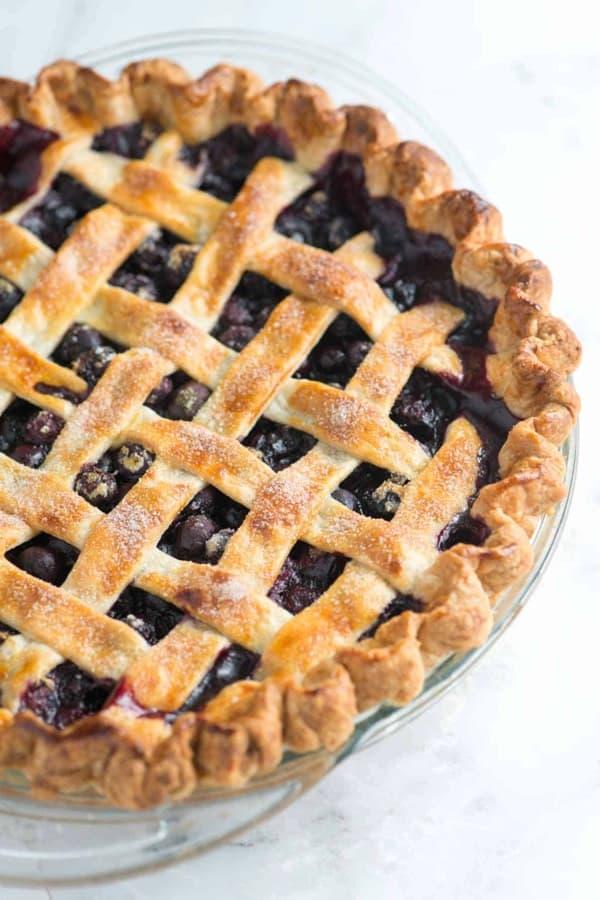 best homemade blueberry pie