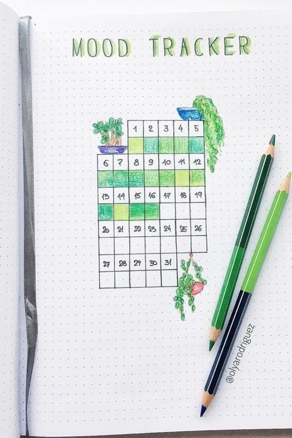 green mood tracker
