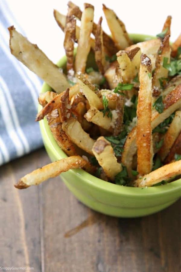 truffle oil fries