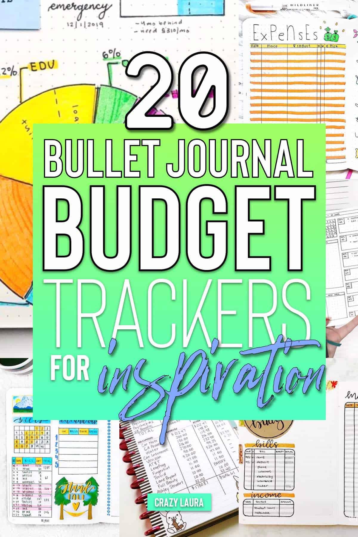 budget tracker setup
