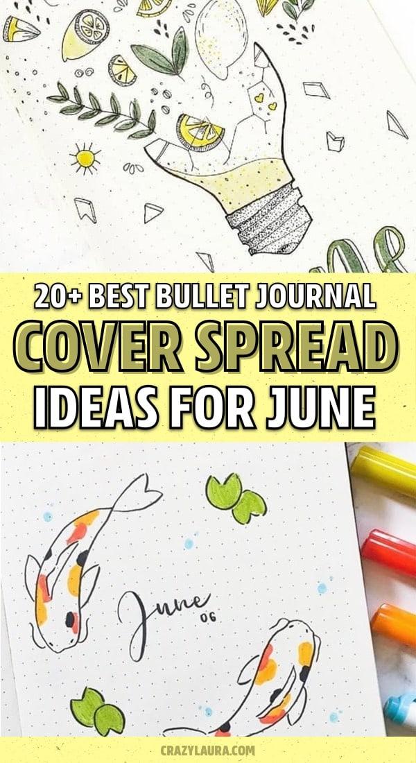 list of june bullet journal ideas