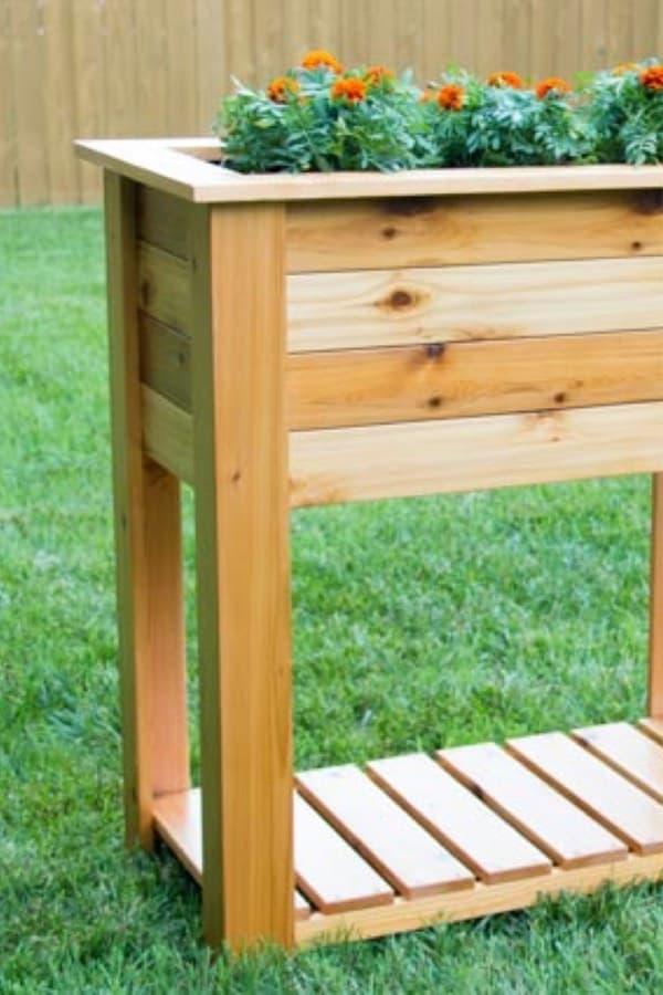 easy raised planter boxes