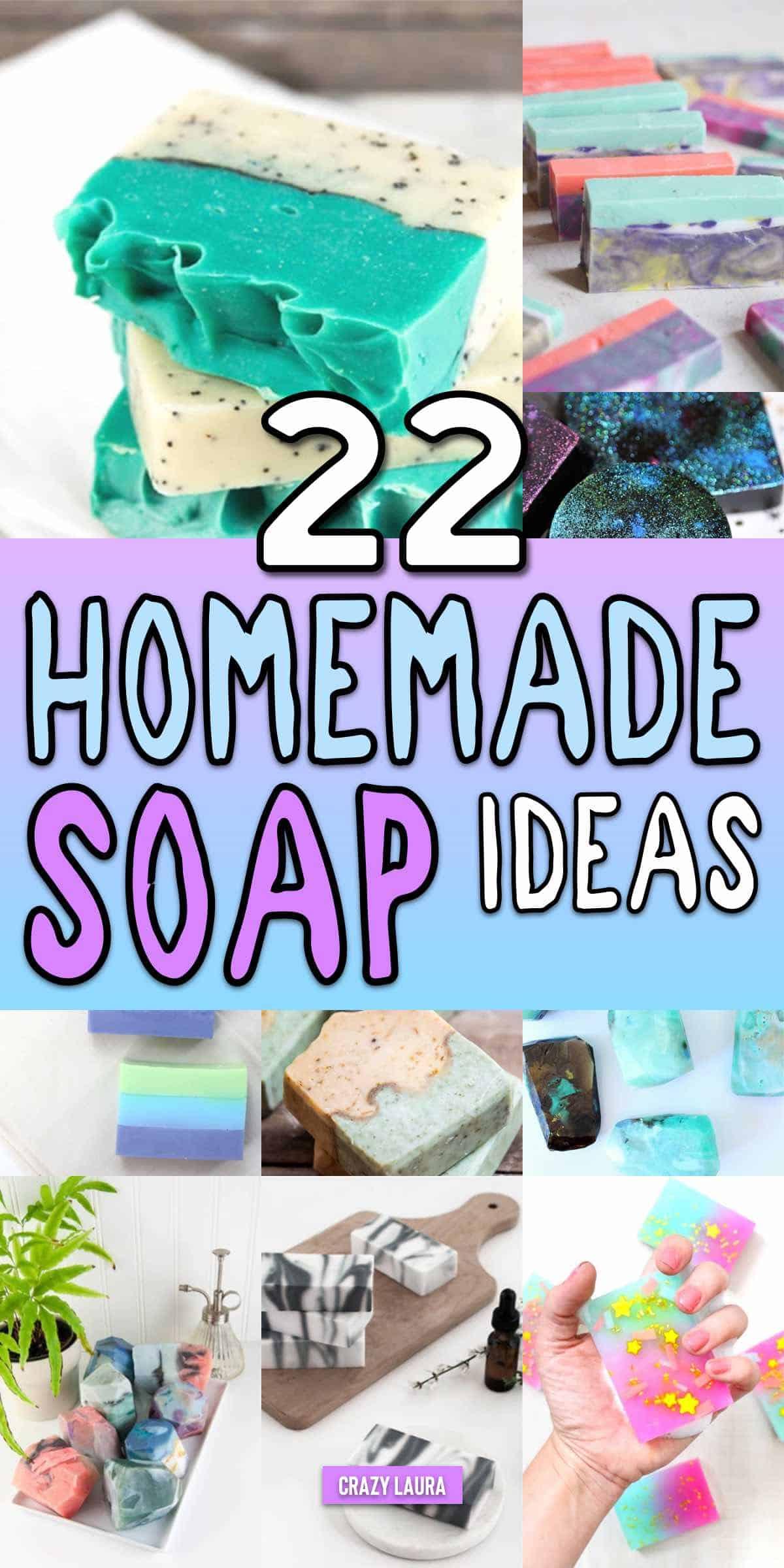 easy diy soap ideas