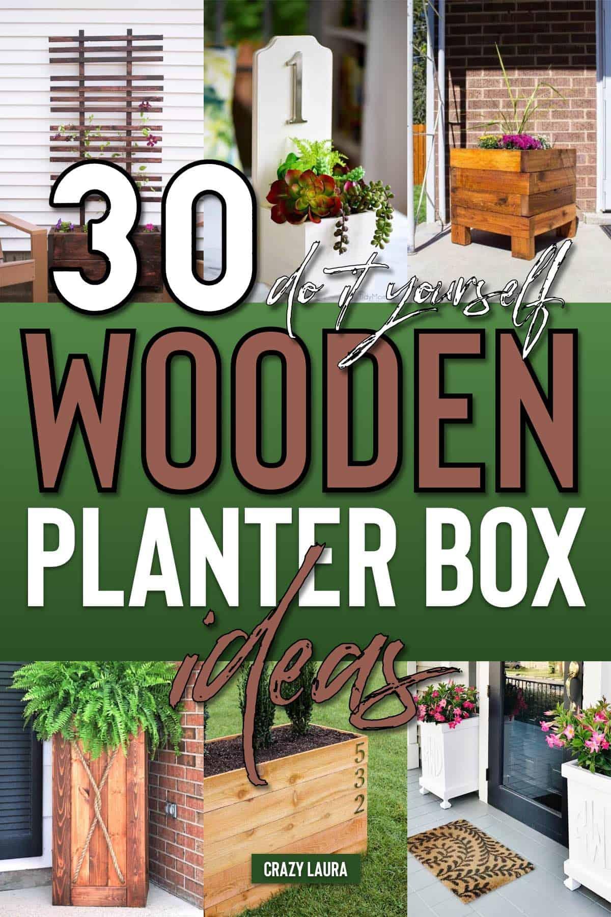 planter box tutorial ideas