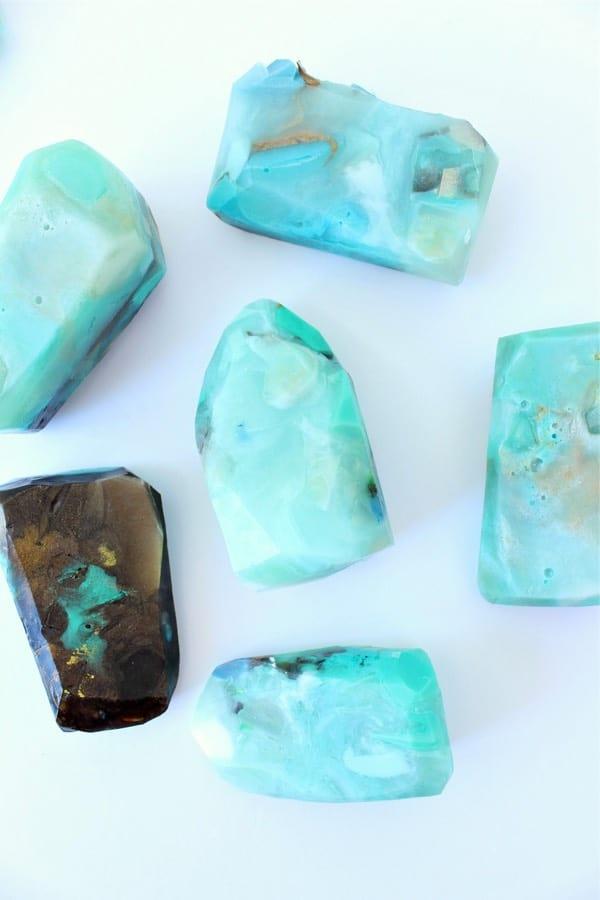 gemstone soap recipe