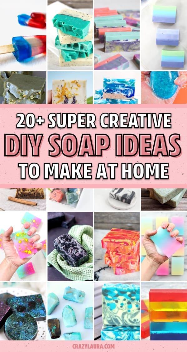 best handmade soap tutorial ideas