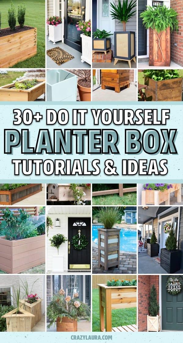 cheap diy garden box