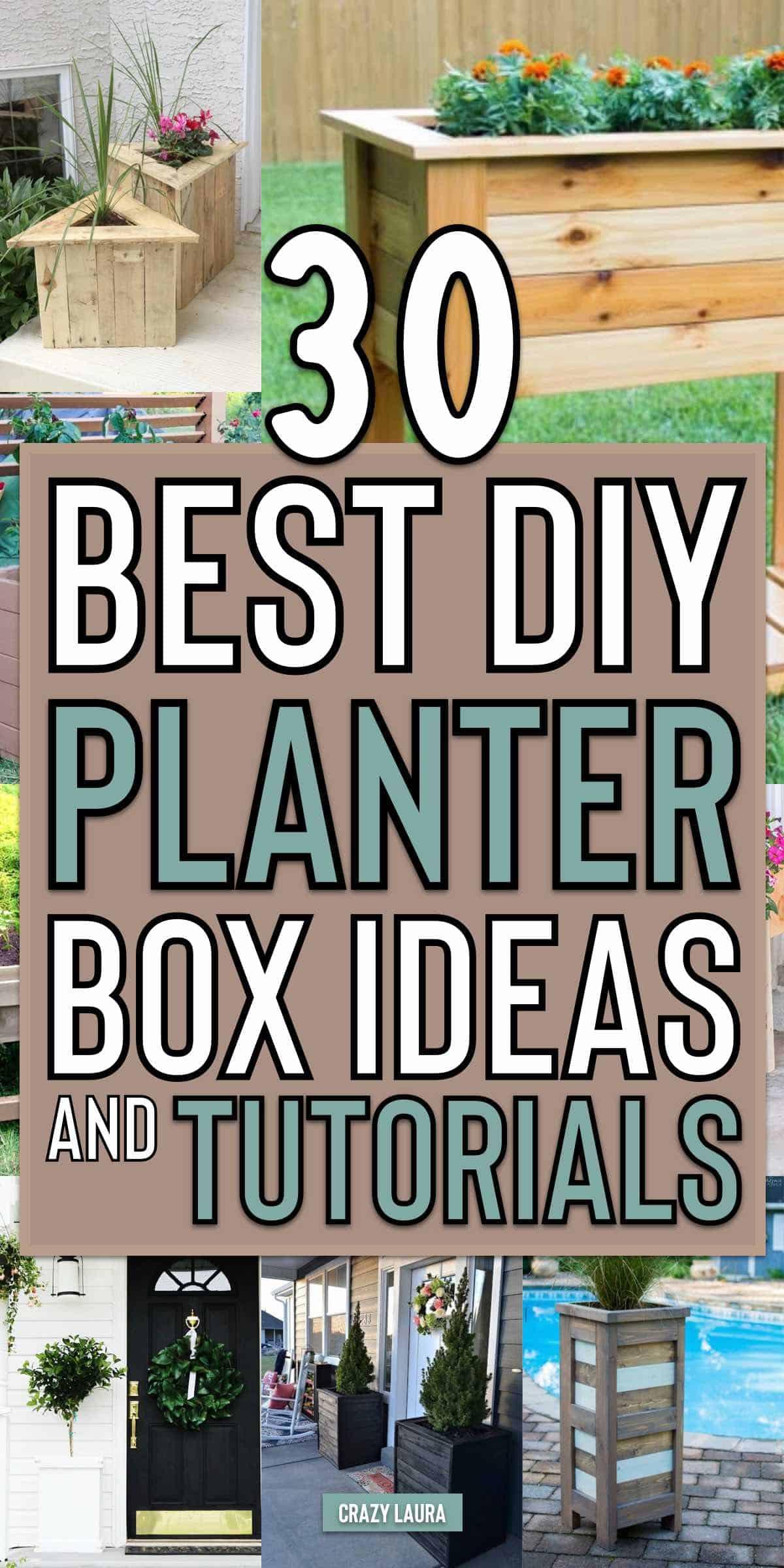 simple diy planter box