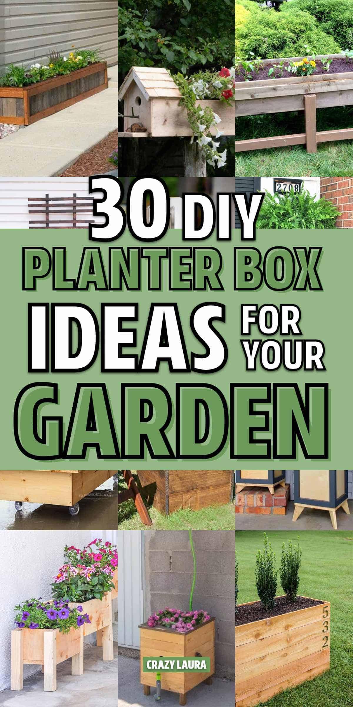 easy planter box examples