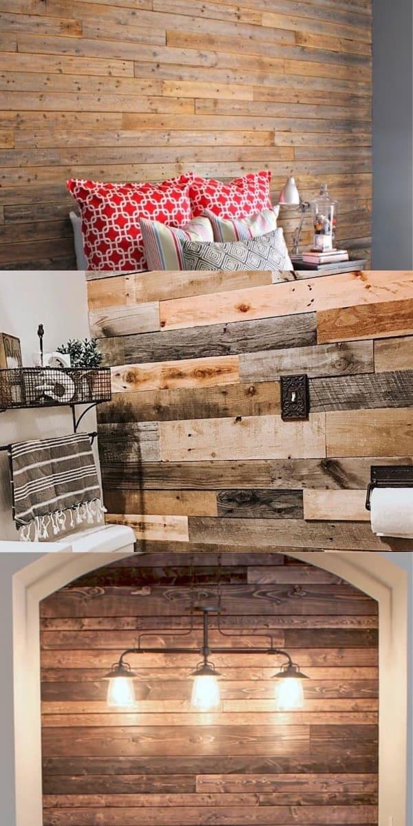 bedroom wooden wall