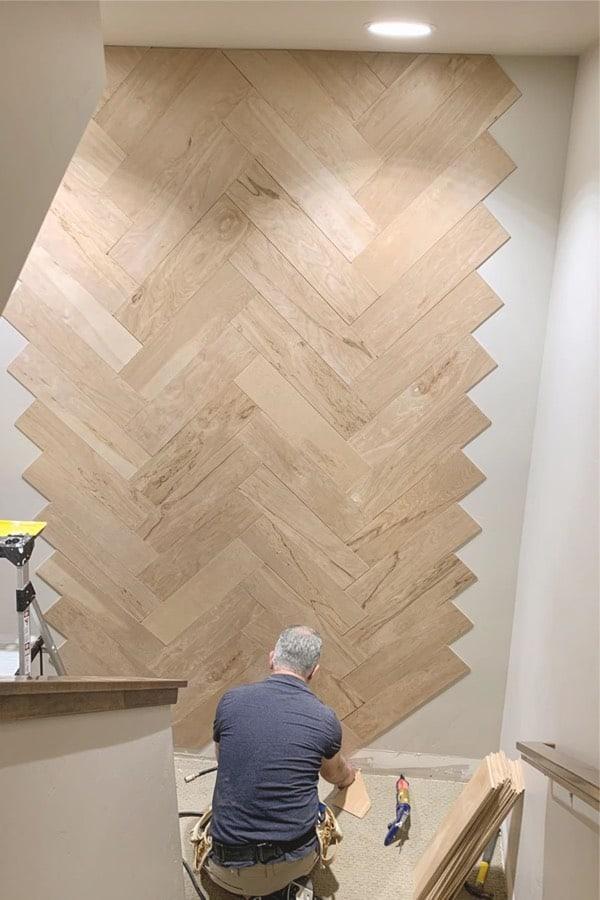 creative wooden wall ideas